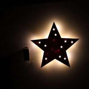 Nachtlicht Big Star