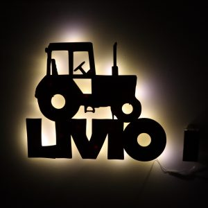 Nachtlicht Traktor Ford Geschenk Baby Taufe Kinderzimmer Geburt