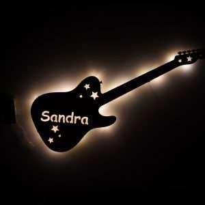 Nachtlicht Gitarre