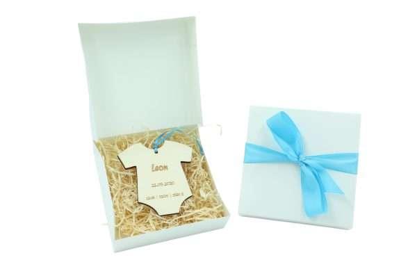 Little Boxes zur Geburt in Geschenkverpackung