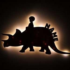 Nachtlicht Dino Ride